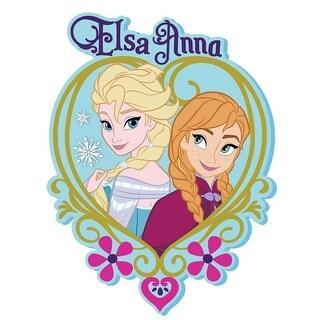 """Disney's Frozen Soft Touch PVC Magnet: """"Elsa & Anna"""""""
