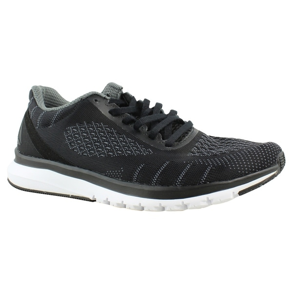 99ee645672f62 Shop Reebok Womens Print Smooth Ultk Black AsteroidDust White Running Shoes  Size - Free Shipping On Orders Over  45 - Overstock - 23123543