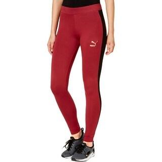 Puma Womens Athletic Leggings Fitness Yoga