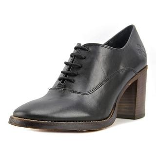 Patricia Nash Anna Women  Round Toe Leather Black Oxford