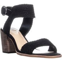 Vince Camuto Kolema Block Heel Ankle Strap Sandals, Black - 9 us / 39 eu