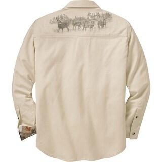 Legendary Whitetails Mens Legends Twill Shirt