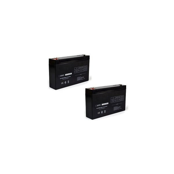 Replacement AGM SLA Battery 6V-7Ah (2-Pack) Replacement AGM SLA Battery