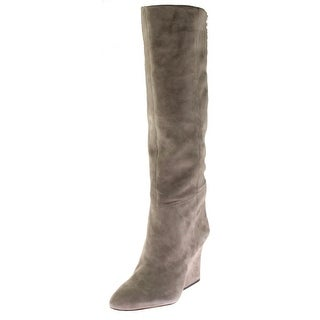 Sam Edelman Womens Whitney Knee-High Boots Suede Stretch