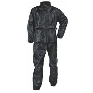 Mens Lightweight Water Resistant Oxford Nylon Rain Suit