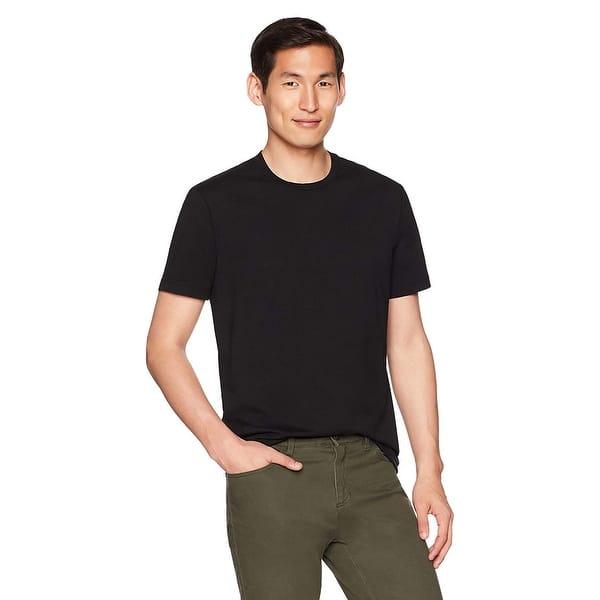 Goodthreads Mens Short-Sleeve Crewneck Cotton T-Shirt with Pocket
