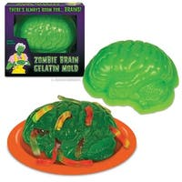 Zombie Brain Gelatin Mold - Multi