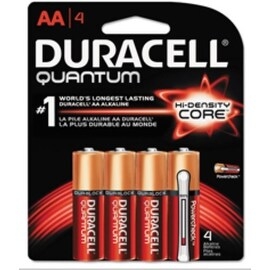 Duracell Quantum Alkaline Batteries, AA 4 Each (4 options available)