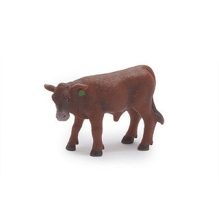 Little Buster Toy Calf Ear Tag Angus Heavy Duty Plastic Red 500266