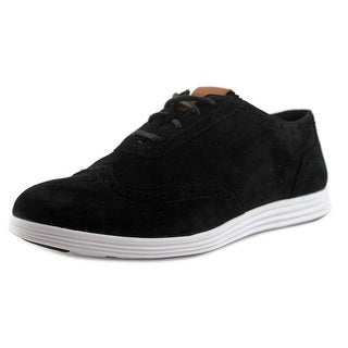 Cole Haan Kevin Women Round Toe Suede Oxford