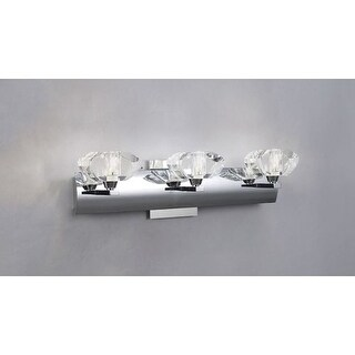 Mantra Lighting 0403SN Alfa 3 Light ADA Compliant Wall Sconce