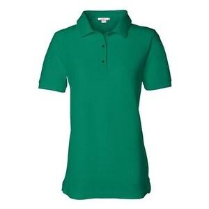 FeatherLite Women's Pique Sport Shirt - Kelly Green - 3XL
