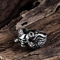 Vienna Jewelry The Persian Army Stainless Steel Ring - Thumbnail 1