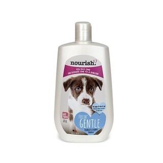 Nourish NOUR-145 16-Ounce Pet Dog Shampoo/Conditioner Baby Powder