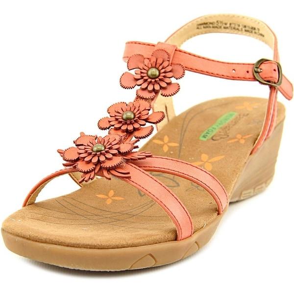 Baretraps Hammond Women Open Toe Synthetic Pink Wedge Sandal