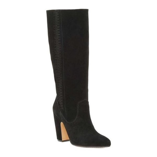 c07341973a9 Shop Vince Camuto Women's Coranna Tall Boot Black Verona - On Sale ...
