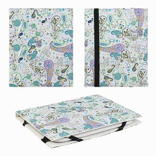 """JAVOedge Pasiely 6"""" Universal eReader Book Case for the Nook Touch, Glowlight, Kobo Glo, Touch, Kindle - Paisley"""