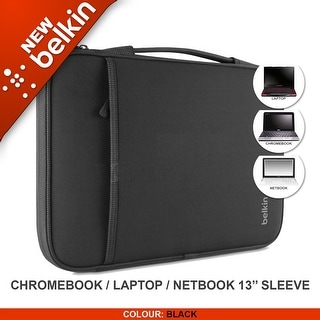 "Belkin Laptop Sleeve for MacBook Air' 13"",Microsoft Surface Pro3,Chrome, Black"