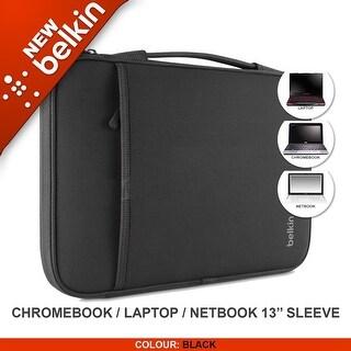 "Belkin Laptop Sleeve for MacBook Air' 13"",Microsoft Surface Pro3,Chrome, Black"