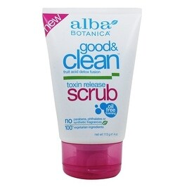 Alba Botanica Good & Clean Toxin Release Scrub 4-ounce