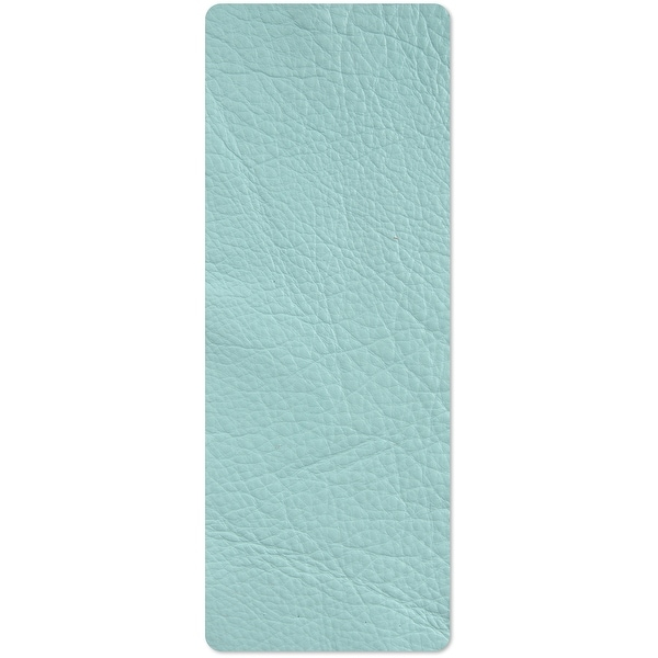 "Sizzix Cowhide Leather 3""X9""-Turquoise"