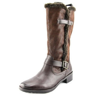 Naturalizer Maddox  Women WW Round Toe Synthetic  Mid Calf Boot