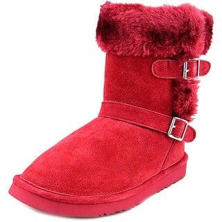 Lamo Cresson Women Round Toe Suede Red Winter Boot