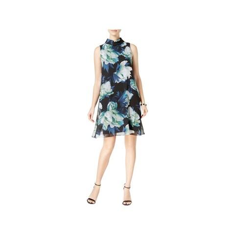 Vince Camuto Womens Party Dress Sleeveless Mini