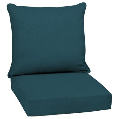 Arden Selections Atlantis Woven Outdoor 24 in. Conversation Set Cushion - 24 (L) x 24 (W) x 5.75 (H)