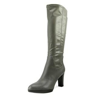 Franco Sarto Womens ILANA Almond Toe Knee High Fashion Boots