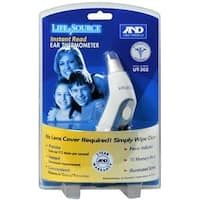 LifeSource Instant Read Ear Thermometer 1 Each