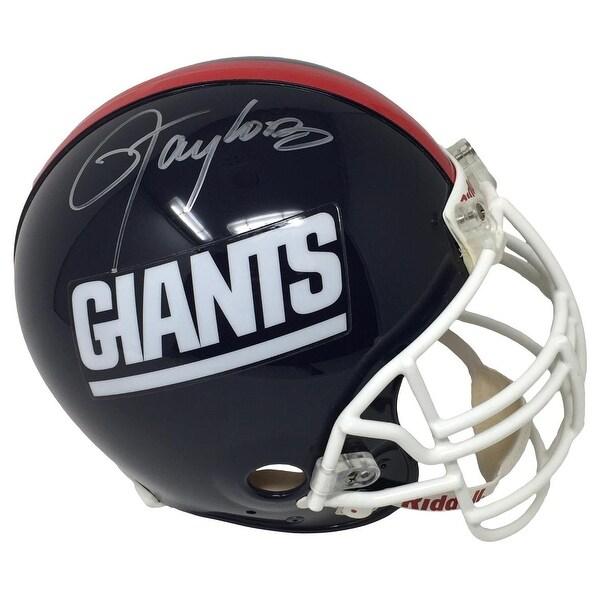 61afb77d3 Lawrence Taylor Signed New York Giants Proline Helmet w/ Taylor Facemask  Steiner