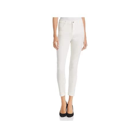 J Brand Womens Alana Cropped Pants Velvet High Rise - Corset