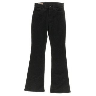 Polo Ralph Lauren NEW Black Womens Size 29 High-Rise Flare Jeans