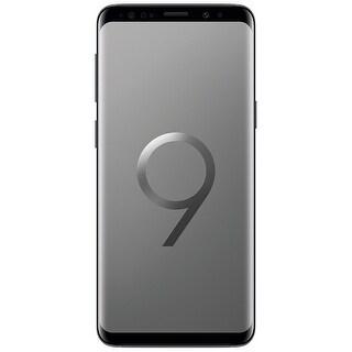 Samsung Galaxy S9 G9600 64GB Unlocked GSM 4G LTE Phone w/ 12MP Camera - Titanium Gray (Certified Refurbished) - Titanium Gray