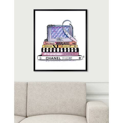 Oliver Gal 'Doll Memories - Fashionphile' Fashion Framed Wall Art