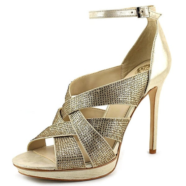 Vince Camuto Grimes Women Open Toe Suede Sandals