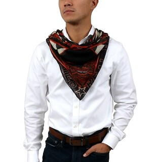 Givenchy 1212GV SD257 1 Black/ Red Scarf - 47.30-47.30