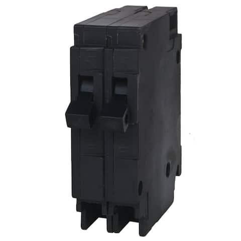 Murray MP1515N Duplex Circuit Breaker, 15/15 Amp, 120V