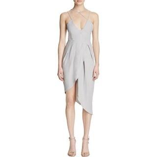 Elliatt Womens Tranquil Cocktail Dress Pleated Strappy