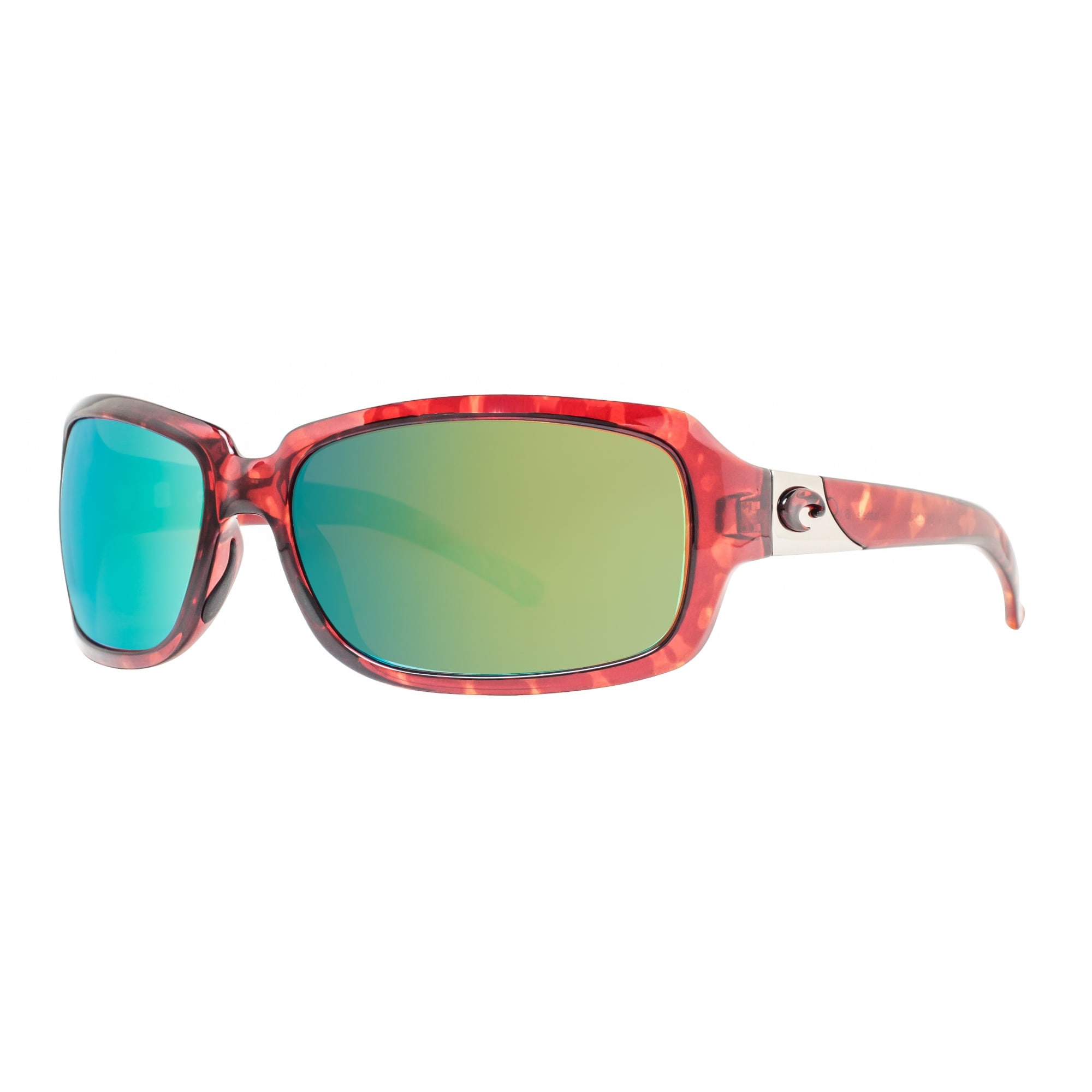 Costa Del Mar Isabela Sunglasses IB-10-OGMP TortoiseGreen 580P Polarized
