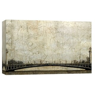 """PTM Images 9-101839  PTM Canvas Collection 8"""" x 10"""" - """"Pont Neuf"""" Giclee Buildings and Cityscape Art Print on Canvas"""