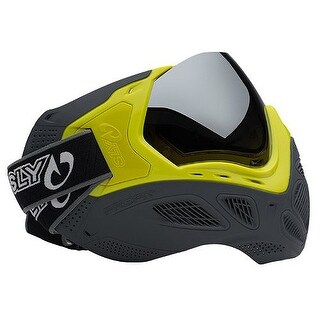 Sly Paintball Profit Series LE Goggle Mask - Highlighter/Gray