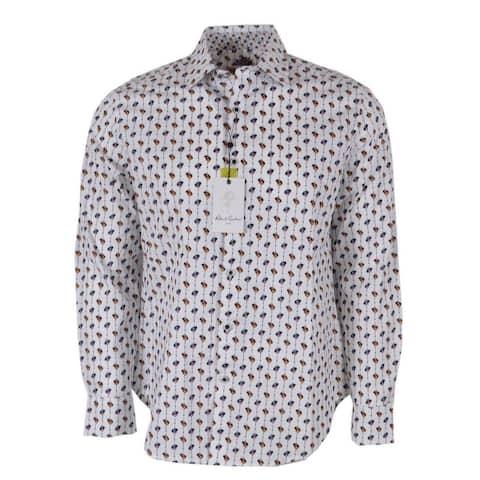 Robert Graham LINGO Cotton Flip Cuff Sports Shirt