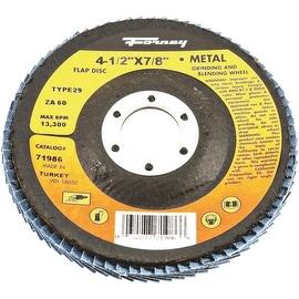 Forney 60G Blue Zir Flap Disc