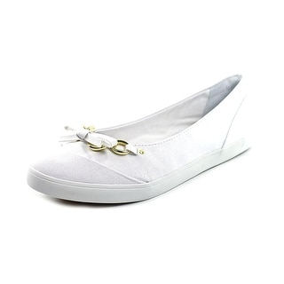 Naturalizer Client N/S Round Toe Canvas Flats