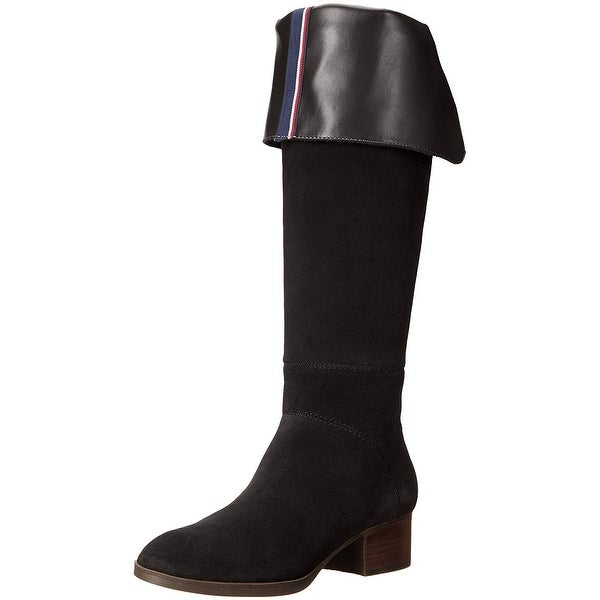 d3461849237e97 Shop Tommy Hilfiger Womens Gianna Pointed Toe Over Knee Fashion ...