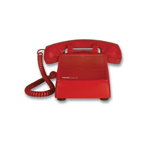 Viking k-1900d-2 hotline desk phone - red