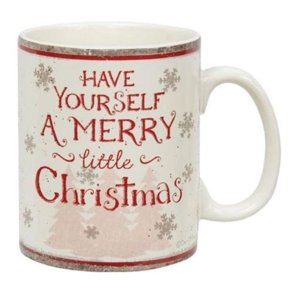 Merry Christmas Truck Mug