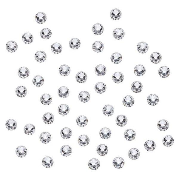 Swarovski Crystal, Round Flatback Rhinestone SS9 2.5mm, 72 Pieces, Crystal Foiled